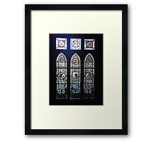 Wonderful Windows Framed Print