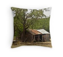 Old Farm Shed - Hill End Throw Pillow