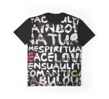 all abut words  Graphic T-Shirt