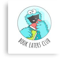 Book Monster Metal Print
