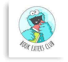 Book Monster Canvas Print