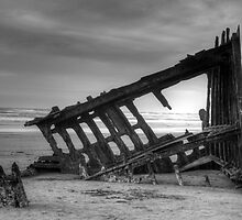 The Wreck Of The Peter Iredale by Kelly-Shane Fuller