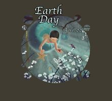 Keepsakes of the Ocean - Earth Day With Date - Bubble cut Unisex T-Shirt
