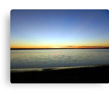 River's Edge Canvas Print