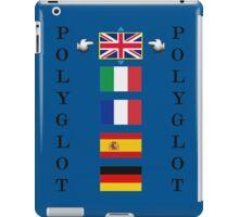 Polyglot language selector iPad Case/Skin