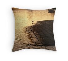 Dawn - Bermagui Boat Ramp Throw Pillow