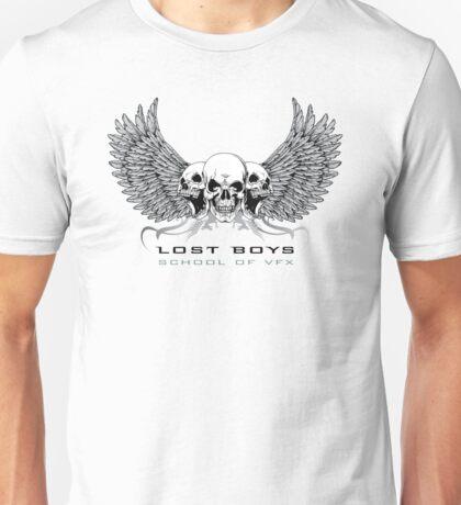 LBS - School of VFX White Large T-Shirt Logo T-Shirt