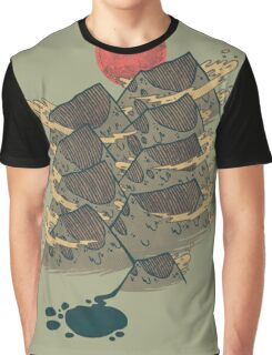 There's Chocolate in Those Mountains Graphic T-Shirt