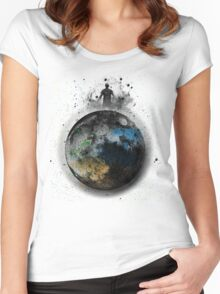 celestial baron Women's Fitted Scoop T-Shirt