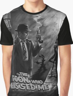 The Toon Who Kissed Me (B&W) Graphic T-Shirt