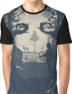 Winter Hunt Graphic T-Shirt