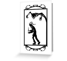 Jack And The Ghost Greeting Card