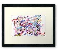 Wind Rhythms Framed Print