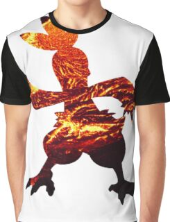 Combusken used Fire Spin Graphic T-Shirt