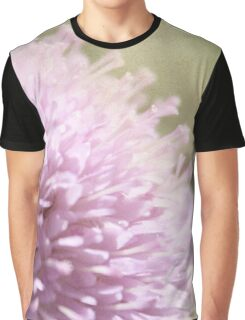 Lilac Flower Romantic Macro Photograph Graphic T-Shirt