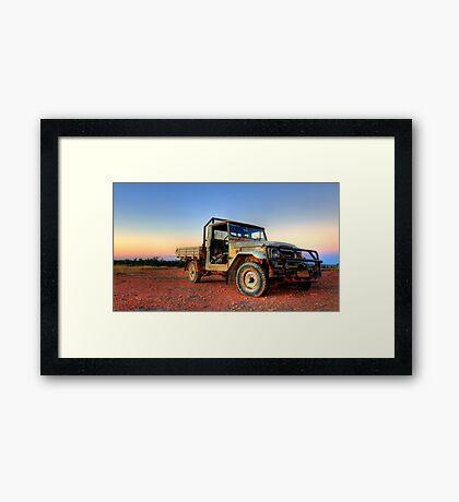Old Girl Cruiser Framed Print