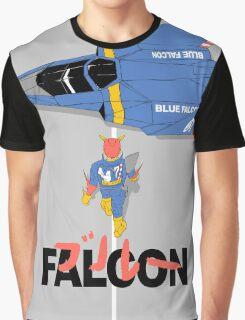 The Legendary Blue Falcon Graphic T-Shirt