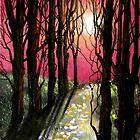 Moonlit Forest by Cherie Roe Dirksen