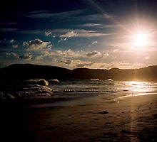 Sunset Squeaky Beach Wilsons Prom Vic by OzNatureshots