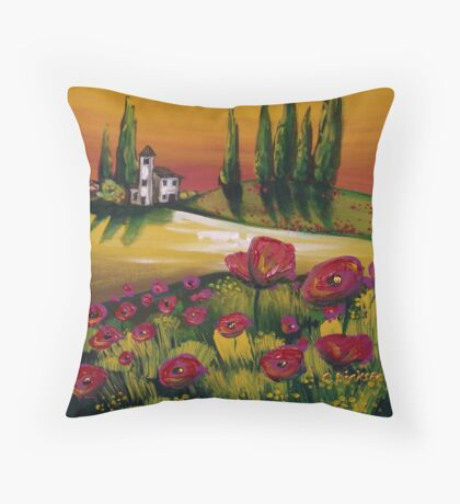 Country Retreat Throw Pillow