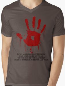 AWESOME Dark Brotherhood Black Sacrament! Mens V-Neck T-Shirt