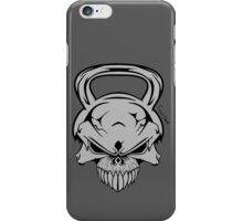 Skull Weight  iPhone Case/Skin