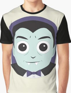 Little Monsters: Dracula Graphic T-Shirt