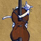 Fiddle Cat Gold by Donnahuntriss