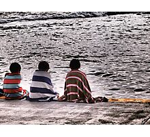 The Boys In Stripes Photographic Print