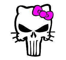 Kitty Punisher Photographic Print