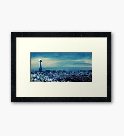The Smalls Lighthouse Framed Print