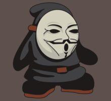 shy guy fawkes. by Dann Matthews