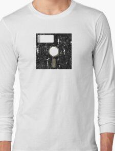 Retro Floppy Long Sleeve T-Shirt