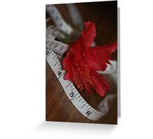 Measured Beauty....... Greeting Card