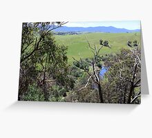 Between Omeo and Bairnsdale Vic Greeting Card