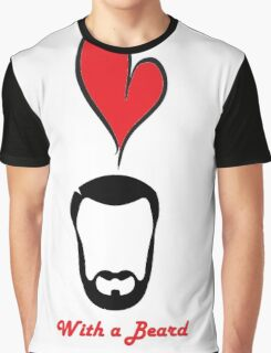 Love a Bearded Gent Graphic T-Shirt