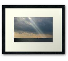 Illes Formigues Framed Print