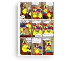 """Rick the chick """"THE MAGIC SHELL (Il predestinato) parte 2"""" Canvas Print"""