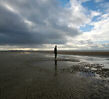 Figure on Beach by Epicurian