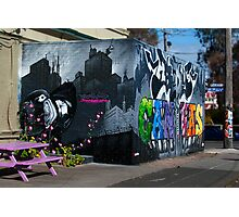 Images of Brunswick #4 Street Art advertising Body Canvas Showcase Photographic Print