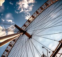 Roulette (The London Eye) by Pete Halewood