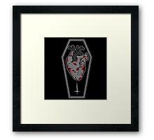 Bloody Heart Framed Print