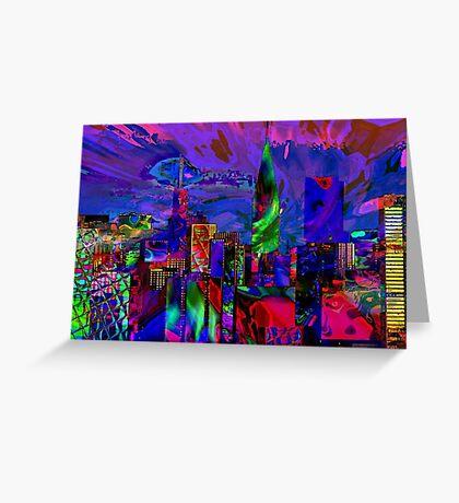Urban Nights Greeting Card