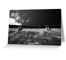 Maroondah Dam Wall Greeting Card
