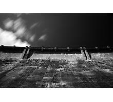 Maroondah Dam Wall Photographic Print
