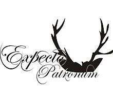 Expecto Patronum Deer Horn Photographic Print