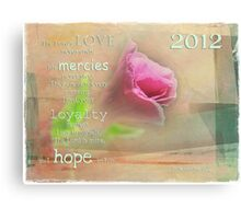 Hope for the New Year Canvas Print