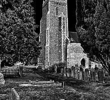 Church of St Mary, Tharston by Darren Burroughs