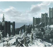 Skyrim Winterhold by Obercostyle