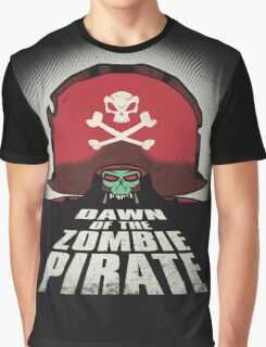 Dawn of the Zombie Pirate Graphic T-Shirt